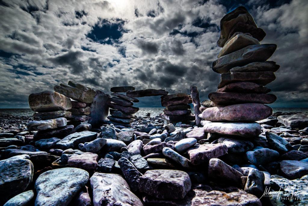 fotografi Stenpyramid Öland